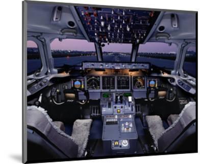 Boeing 717 regional twinjet--Mounted Art Print