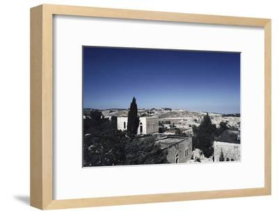 Israeli Town--Framed Art Print