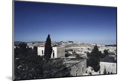 Israeli Town--Mounted Art Print