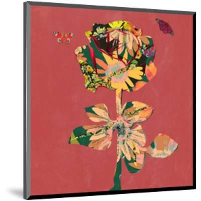 Flowers within Flowers-Claire Westwood-Mounted Art Print