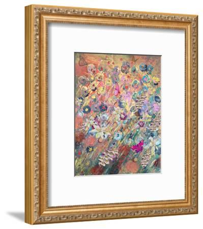 Foxglove grow-Claire Westwood-Framed Art Print