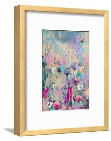 Fly Blue-Claire Westwood-Framed Art Print
