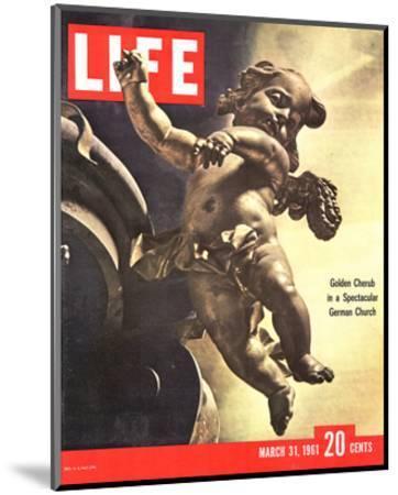 LIFE German Rococo Putto 1961--Mounted Art Print