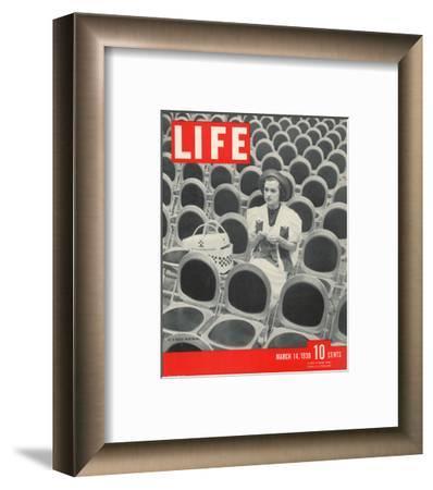 LIFE At a Radio Rehearsal--Framed Art Print