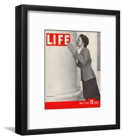 LIFE Reno Divorce Myth 1937--Framed Art Print
