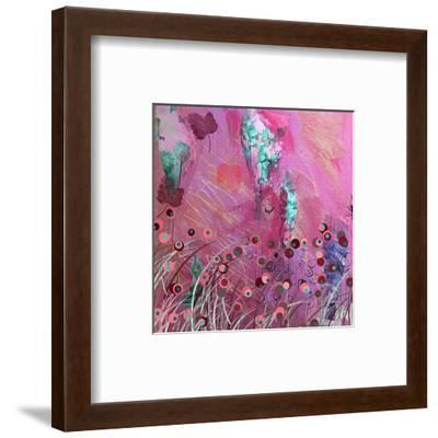 Pink and Blue-Claire Westwood-Framed Art Print