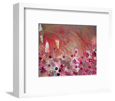Red-Claire Westwood-Framed Art Print