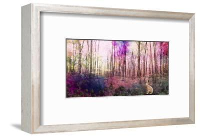 Trees 3-Claire Westwood-Framed Art Print