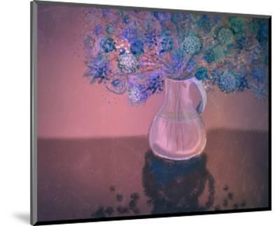 Vase 3-Claire Westwood-Mounted Art Print