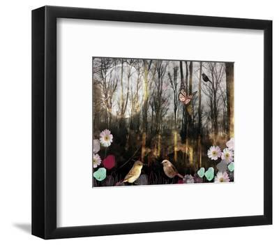 Woodland Moon-Claire Westwood-Framed Art Print