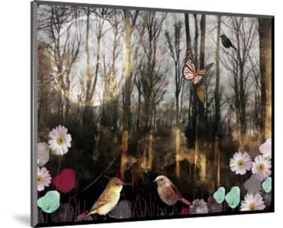 Woodland Moon-Claire Westwood-Mounted Art Print