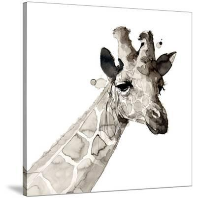 Giraffe-Philippe Debongnie-Stretched Canvas Print