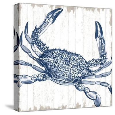 Seaside Crab-Sparx Studio-Stretched Canvas Print