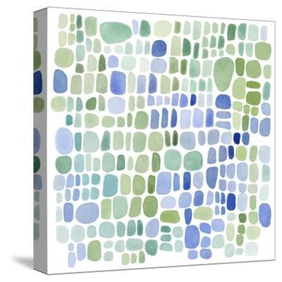 Series Sea Glass No. II-Louise van Terheijden-Stretched Canvas Print