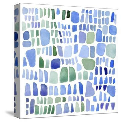 Series Sea Glass No. IV-Louise van Terheijden-Stretched Canvas Print