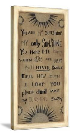 My Only Sunshine-Cindy Shamp-Stretched Canvas Print