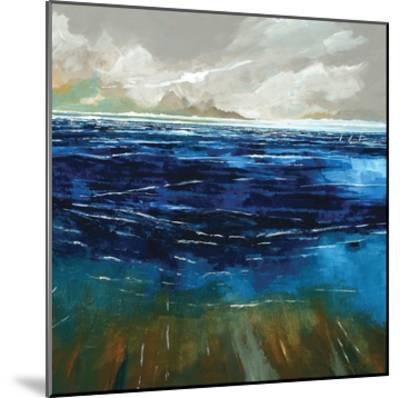 Beach and Sea-Stuart Roy-Mounted Art Print
