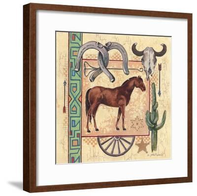 Western III-Anita Phillips-Framed Art Print