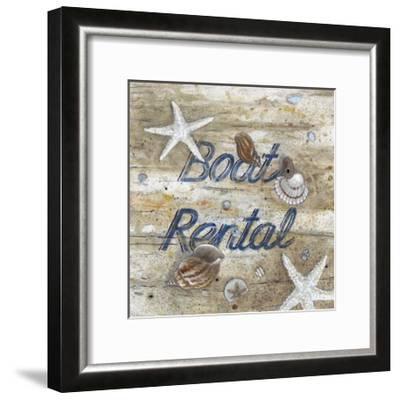 Boat Rental-Arnie Fisk-Framed Giclee Print