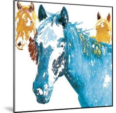 It's Cool To Be Blue-Marvin Pelkey-Mounted Giclee Print