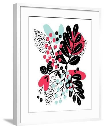 Botanic Burst II-Myriam Tebbakha-Framed Giclee Print