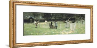 The Tennis Party-Sir John Lavery-Framed Giclee Print