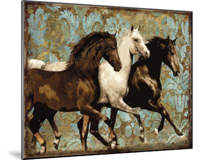 Dressage-Alan Lambert-Mounted Giclee Print