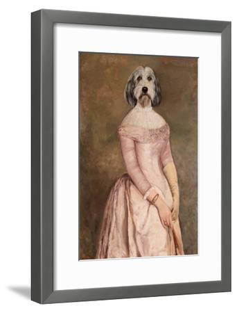 La debutante-Thierry Poncelet-Framed Premium Giclee Print
