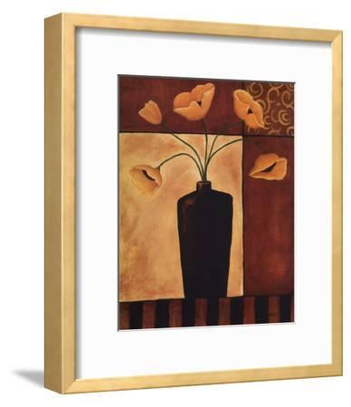 Golden Glow II-Krista Sewell-Framed Art Print
