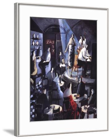 Blue Light-Didier Lourenco-Framed Art Print
