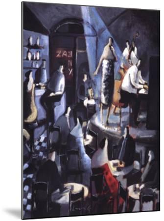Blue Light-Didier Lourenco-Mounted Art Print