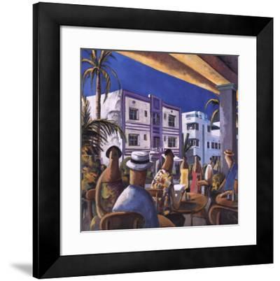 Breakfast in Miami-Didier Lourenco-Framed Art Print