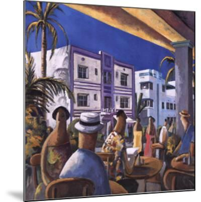 Breakfast in Miami-Didier Lourenco-Mounted Art Print
