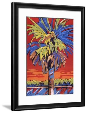 Caladessi Glow-Sally Evans-Framed Art Print
