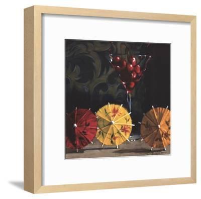 Cherry Martini-Cathy Lamb-Framed Art Print