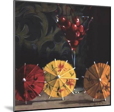 Cherry Martini-Cathy Lamb-Mounted Art Print