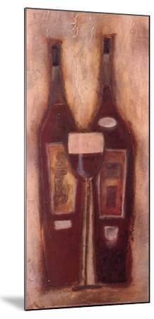 At the Wine Bar II-Sydney Clarke-Mounted Art Print