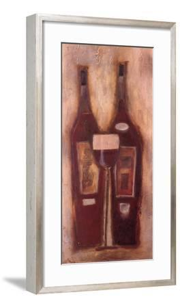 At the Wine Bar II-Sydney Clarke-Framed Art Print