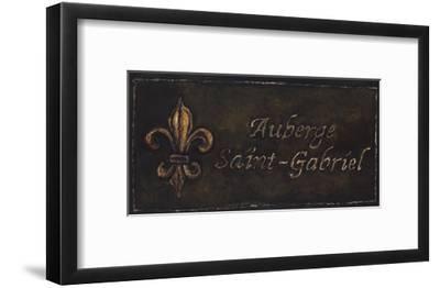 Auberge Saint-Gabriel-Will Rafuse-Framed Art Print