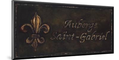 Auberge Saint-Gabriel-Will Rafuse-Mounted Art Print