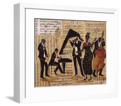 Jam Session I-Tat Vil-Framed Art Print