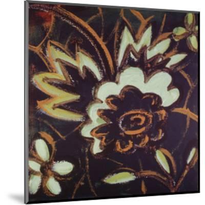 Floral Square IV-Gail Altschuler-Mounted Art Print