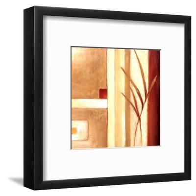 Decorative Grasses II-Ursula Salemink-Roos-Framed Art Print