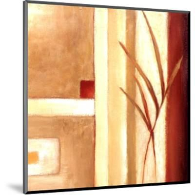 Decorative Grasses II-Ursula Salemink-Roos-Mounted Art Print
