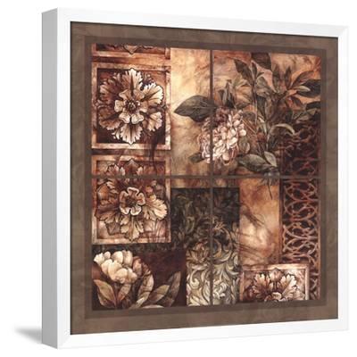 Decorative Textures-Linda Thompson-Framed Art Print