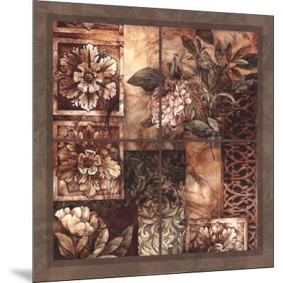Decorative Textures-Linda Thompson-Mounted Art Print