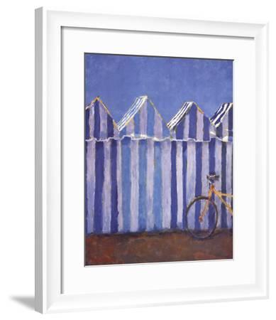 Behind the Beach-Manel Doblas-Framed Art Print