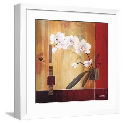 Orchid Lines II-Don Li-Leger-Framed Art Print