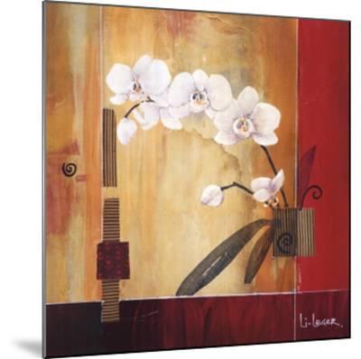 Orchid Lines II-Don Li-Leger-Mounted Art Print