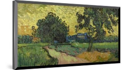 Landscape at Twilight, 1890-Vincent van Gogh-Mounted Art Print